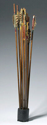 ARTEMIS GALLERY Lot of 10 Early 20th C. Apache Indian Arrows