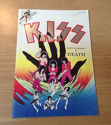 "KISS COMICS "" Rock Fantasy - KISS Fights The Shadow Of Death "" 1990'"