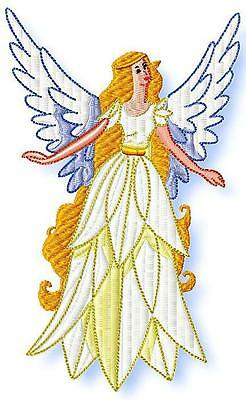 Fine Angels 10  Machine Embroidery Designs 2 Sizes