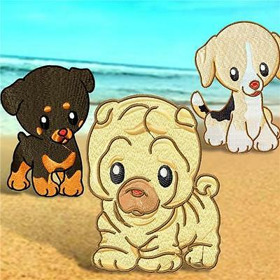 Baby Dogs 10 Machine Embroidery Designs 2 Sizes