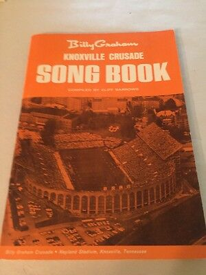 1969 BILLY GRAHAM Knoxville Tennessee Crusade Song Book