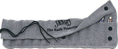 Sack Ups AC801 Gray Cotton 12 Knife Protector Roll Storage Case