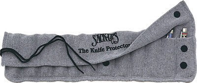 Sack-Ups Protector 12 Holds 12 Knives Silicone Treated Gray Cotton AC801