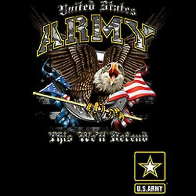US ARMY We Will Defend Mens Tank Top Size Small to X Large Pick Your Size