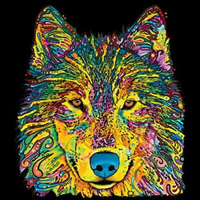 Neon Wolf Mens Tank Top Size Small to X Large  Pick Your Size