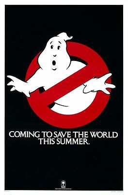 Ghostbusters (Advance) Folded Movie Poster 1984
