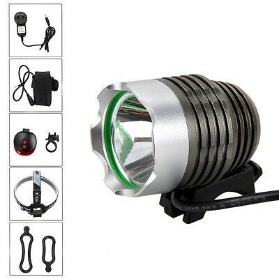 Rechargeable 5000lm T6 LED Head Front Bicycle light Bike Lamp Torch HeadLight