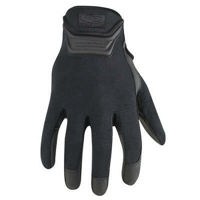 Ringer's 507-10 Black Spandex Super Cuff Duty Plus Washable Gloves - Large