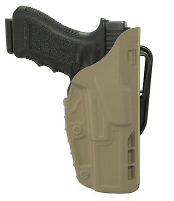 Safariland 7377-83-551 Right Dark Earth ALS Conceal Belt Holster For Glock 17/22
