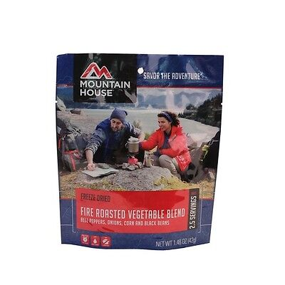 Mountain House 53333 Fire Roasted Veggie Blend Pouch 2.5 Servings