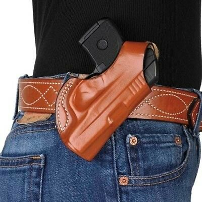 Desantis 027 Quick Snap Belt Holster Right Hand Tan P238 Leather