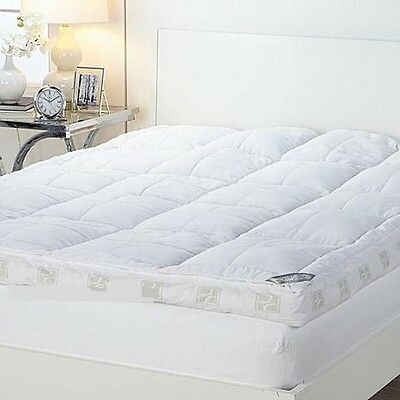 "Concierge Collection Ultimate Pillowtop 6"" Featherbed NEW"