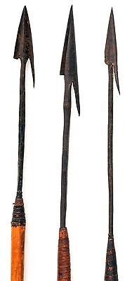 19th century CENTRAL AFRICAN HUNTING ARROWS. BELGIUM CONGO. ZAIRE, #5764a
