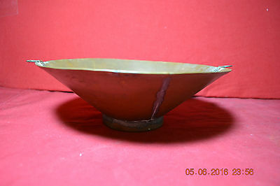 Country Copper Bowl