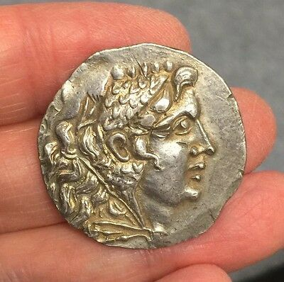 Ancient Greek. Alexander The Great. Posthumous Silver Tetradrachm - Excellent