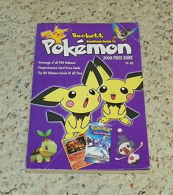 POKEMON - Beckett Unofficial Guide to Pokemon - Price Guide (2007, Paperback)