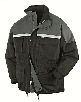 "TEXXOR Winter jacket ""MALMö"", black/grey"