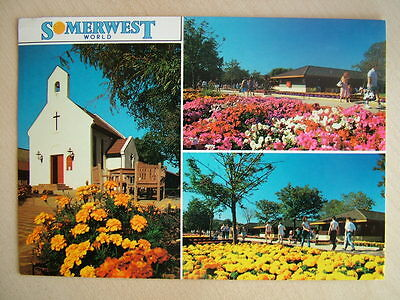 Postcard - SOMERWEST WORLD. Used 1991.