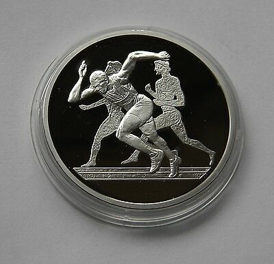 """GRIECHENLAND: 10 Euro 2004 """"OLYMPIADE ATHEN"""", PP, Proof, SILBER !!!"""
