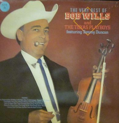 Bob Wills(Vinyl LP)The Best Of-Liberty-SLS 260041-UK-1984-VG+/Ex