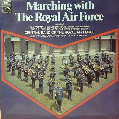 The R.A.F(Vinyl LP)Marching With -HMV-CSD 3679-UK-1970-VG+/Ex