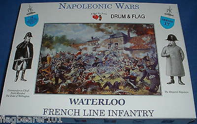 A Call To Arms 17 Napoleonic French Line Infantry 1/32 Scale 54Mm