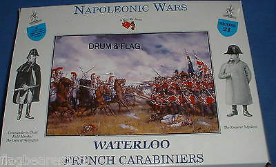 A Call To Arms 21. Napoleonic French Carabiniers. 1/32 Scale Heavy Cavalry