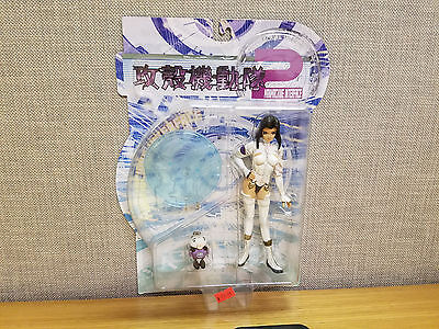 Toycom Manmachine Interface Ghost in the Shell White Catsuit figure, New!