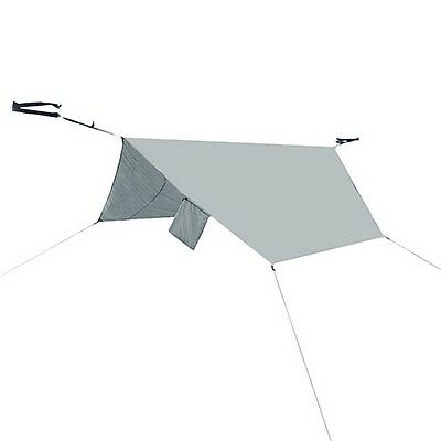 PahaQue HM10R Rainfly Shade and Rain Cover for Single Hammock Grey