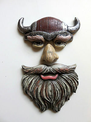 VIKING DESIGN TREE FACE  tree art yard decoration decor garden new 3 PIECE NEW