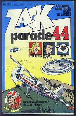 ZACK PARADE Nr.44 von 1981 Dan Cooper, Red Dust, Mike Merlin, Yorik.. - TOP Z0-1