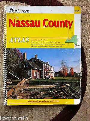 Nassau County Hagstrom Road Map Atlas 2001 Seventh Large Scale Edition