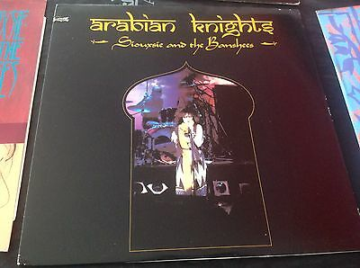 """Siouxsie And The Banshees Arabian Knights PVC Label 12"""" Single Vinyl"""