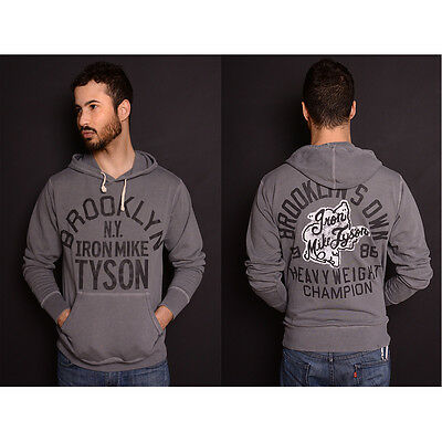 Roots of Fight Tyson Brooklyn's Own French Terry Pullover Hoodie - Gray