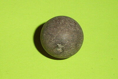 Authentic Ancient ROMAN MARBLE gaming sphere old artifact HENDIN COA holy land