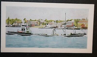 CS  Clay Transporter     River Thames       Illustrated Colour Card