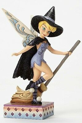 Disney Traditions Tinker Bell Witch Touch of Magic Figurine New