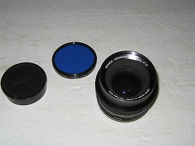 Konica Hexanon AR 50mm F1.7 Camera Lens
