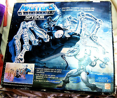 MASTERS OF THE UNIVERSE ( MOTU ) : SPYDOR - Araña mecánica !!! NEW !!! 80´s