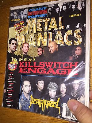 Metal Maniacs Magazine(Aug 2004)Killswitch Engage_Death Angel_Arch Enemy poster