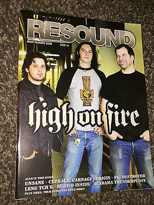 Resound:Music Resource Guide:2005 High on Fire(cover)Alabama Thunderpussy