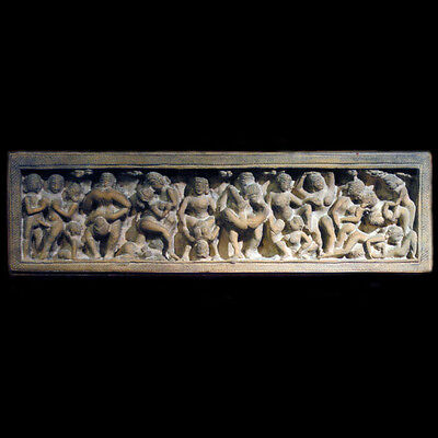 Kama Sutra India Wall Relief Sculpture Plaque Replica Reproduction
