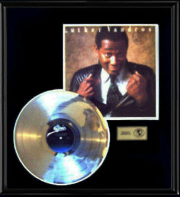 Luther Vandross Never Too Much Rare Lp Gold Record Platinum Disc