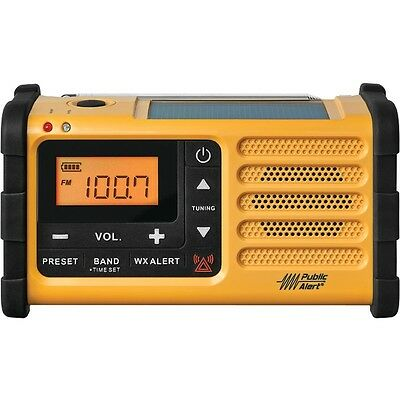 Sangean MMR-88 Weather Crank AM/FM Radio w/USB