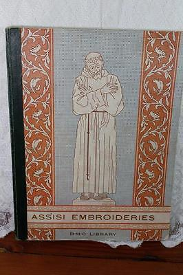 Vintage  Assisi Embroideries Pattern Book - DMC Library 1935 Craft, Sewing