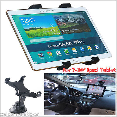 360° Car Windshield Desk Mount Holder Suction Bracket For 7-10inch iPad Tablet