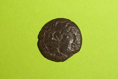 RARE Ancient GREEK COIN of ADAEUS 250 BC-200 BC King of Macedonia Hercules club