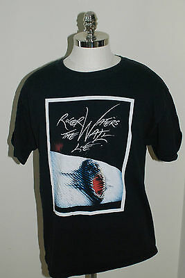 Roger Waters Pink Floyd The Wall 2010 Concert Shirt Black Size XL