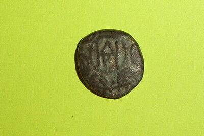 RARE Ancient GREEK COIN shield helmet DEMETRIUS II 239 BC monogram mythology old