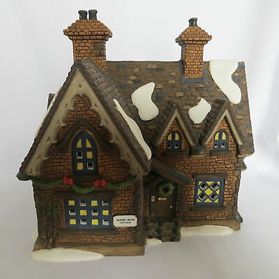Dept 56 Dickens Village Barmby Moor Cottage 58324 Christmas Lighted No Cord